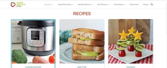 Superhealthykids - website dạy nấu cháo dinh dưỡng