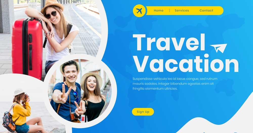 Website là công cụ quan trọng trong quá trình vận hành công ty du lịch