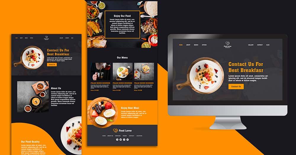 Các lưu ý quan trọng cần biết khi bắt đầu thiết kế website nhà hàng