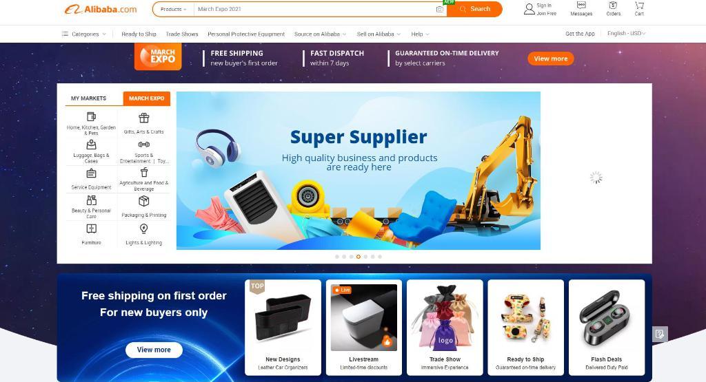 Alibaba.com: Trang web mua hàng Trung Quốc giá rẻ - đa dạng hàng hóa