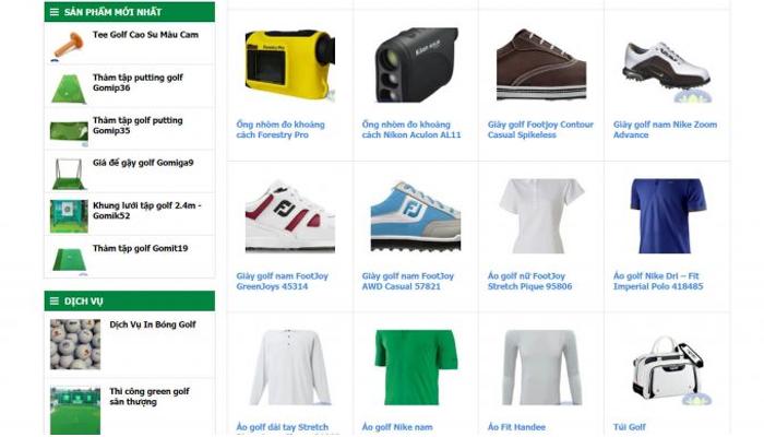 Đơn vị cung cấp trang phục golf giá rẻ - Golffami.vn