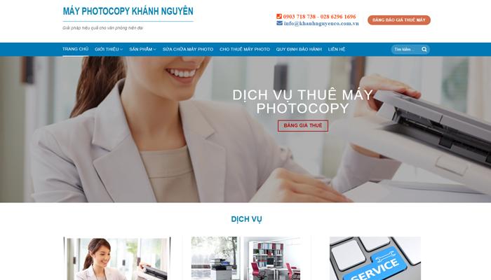 Khanhnguyen.vn - Trang web cung cấp dịch vụ máy photocopy